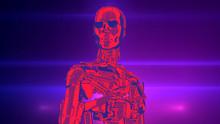 Retro Data Robot For Machinery...