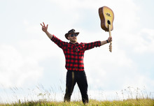 Inspired Country Musician. Uni...