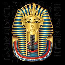 Egypt Tutankhamun Pharaoh Vect...