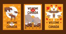 Canadian Symbols And Landmarks...