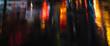 Leinwanddruck Bild - Illumination and neon night lights of NYC