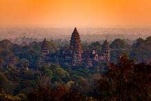 Angkor Wat, Sunset, Cambodia