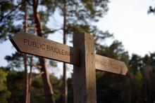Wooden Public Footpath