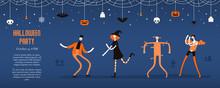 Halloween Banner, Invitation, ...