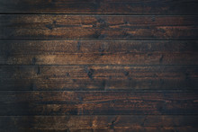 Old Vintage Dark Brown Wooden ...