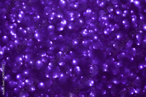 Blurred shiny violet background with sparkling lights. - 290775072