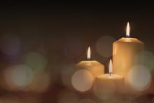 Christmas Advent Candle Light ...