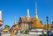 Wat Phra Kaew At Grand Palace, Bangkok, Thailand
