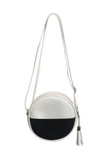 Fashion Bag Shoulder Crossbody Style (with Clipping Path) Isolated On White Background