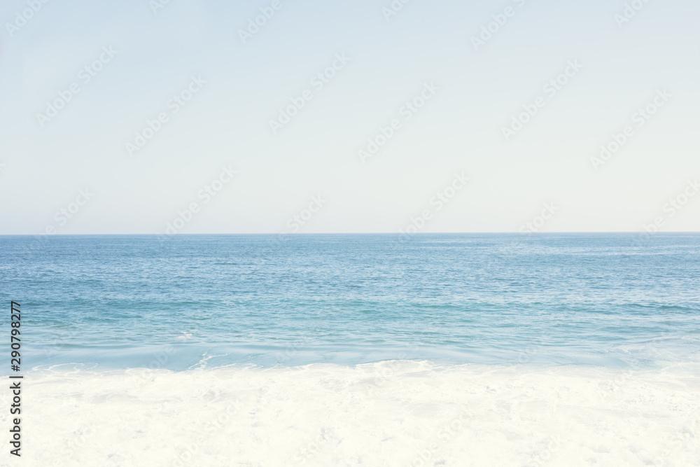 Fototapeta Ocean and sea water, zen and peaceful and calm