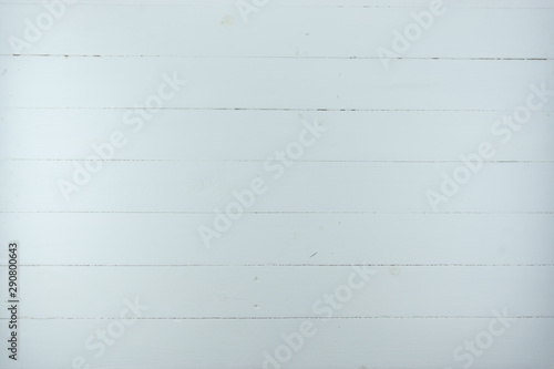 White wood texture background, wooden table top view Canvas Print