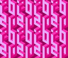 Happy New Year Seamless Pattern