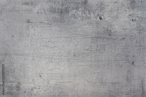 alter Hintergrund, Textur grau Beton mit grunge Kratzern Canvas Print