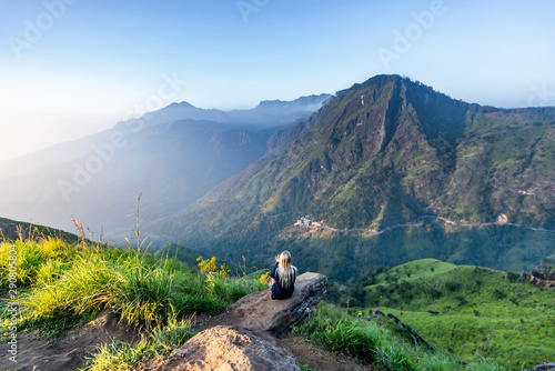 Photo Beautiful landscape in Ella, Sri lanka