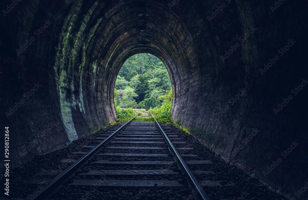 Tunel kolejowy Demodara, Ella, Sri Lanka <span>plik: #290812864 | autor: surangaw</span>