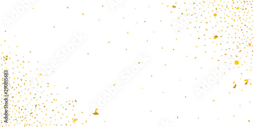 Gold glitter star. Wallpaper Mural