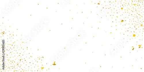 Photo  Gold glitter star.