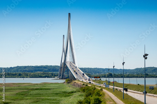Photo sur Aluminium Ponts bridge in France pont de Normandie