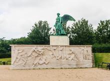 Monument To Mariners. Maritime Monument At Langelinie, Copenhagen, To Danish Merchant Navy Seamen Lost At WW1