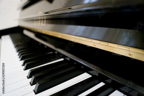 Fototapeta  Detalle de las teclas de un piano