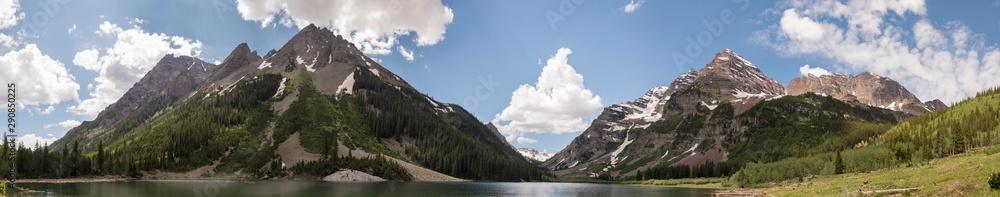 Fototapeta Crater Lake Extra-Long Panoramic