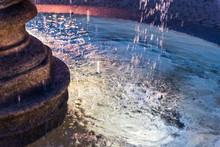 Closeup Of Splashing Water Fou...