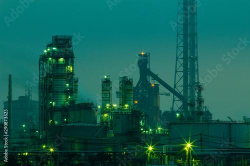 Obraz factory_16/工場_16 - fototapety do salonu