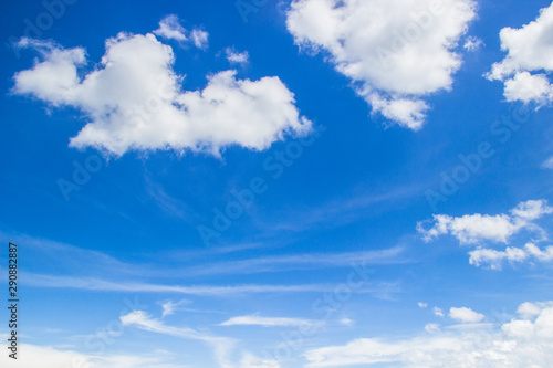 blue sky with white clouds on day light