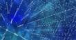 Background Abstract Dynamic Plexus Futuristic Technology. 3d render
