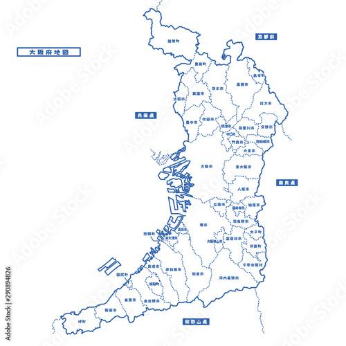 地図 大阪 府 大阪府の地図・住所一覧