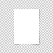 Vector Sheet Paper A4 Format W...