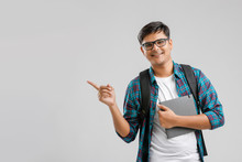 Young Indian Man Showing Thump Up