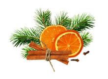 Dry Orange, Cinnamone, Cloves ...