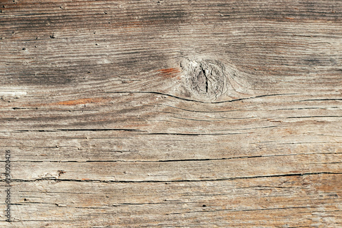 Fotomural  Textured old grunge wooden background. Copy space.