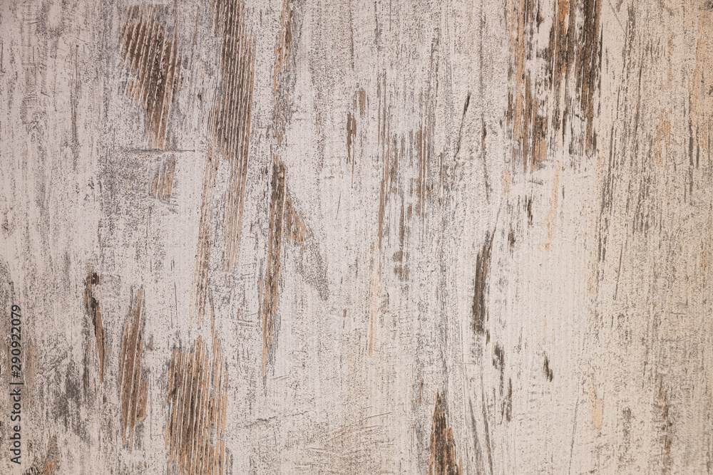Fototapeta A weathered wooden background