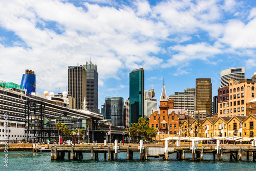Modern city architecture in Sydney downtown area. Sydney, Australia, 2019. - 290922419