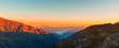 Sonnenaufgang im Nationalpark Hohe Tauern, Österreich