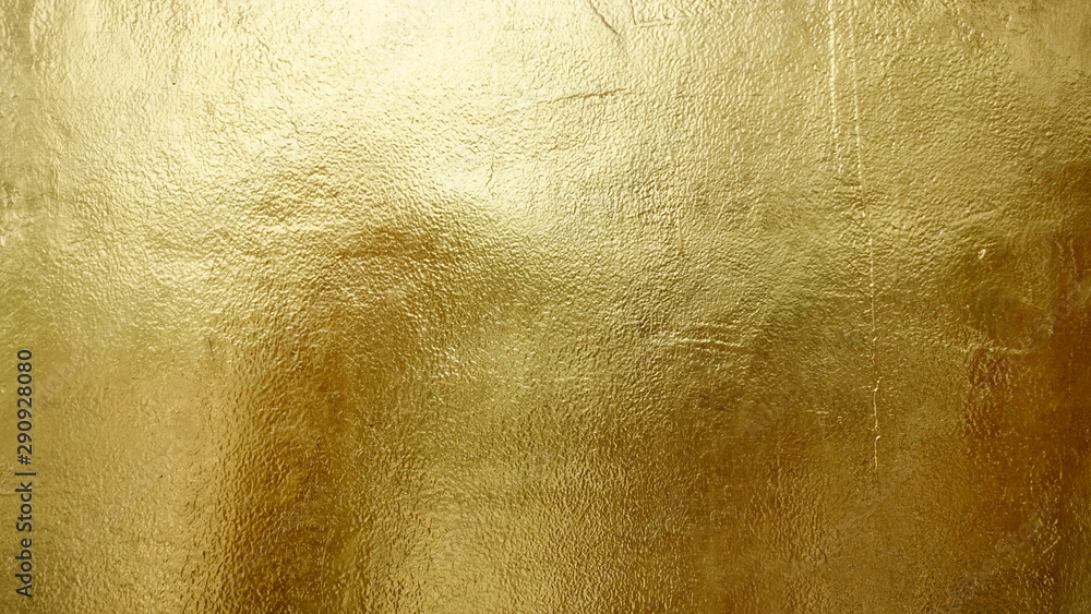 Fototapeta Gold shiny wall abstract background texture, Beatiful Luxury and Elegant