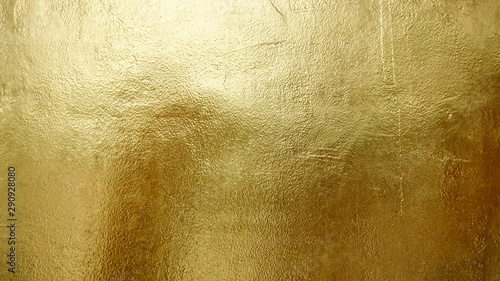 Fotografiet  Gold shiny wall abstract background texture, Beatiful Luxury and Elegant