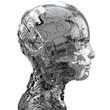 canvas print picture - Robotik und künstliche Intelligenz