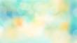 Frühlings-Hintergrund mit Lensflares und Bokeh