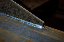 Welded Seam Of Metal Parts