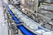 canvas print picture - Food products boxs transfer on Automated conveyor systems industrial automation for package