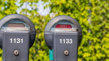 Two Expired Parking Meters On ...