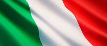Waving Flag Of Italy - Flag Of...