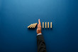 Leinwanddruck Bild - Business crisis management conceptual image