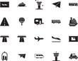 holiday vector icon set such as: cart, automobile, bag, action, front, summer, trolley, sketch, tourist, truck, template, landing, family, access, express, life, caravan, mobile, coupon, hot