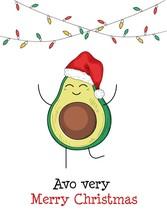 Avo Very Merry Christmas Avoca...