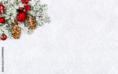 Christmas decoration Tablou Canvas