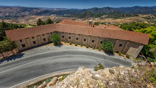 Chrysorrogiatissa Monastery. Cyprus, Paphos District